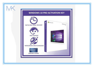 100% Aktywacja systemu Windows 10 Online Retail Box 64 bitowy Windows 10 Pro Software